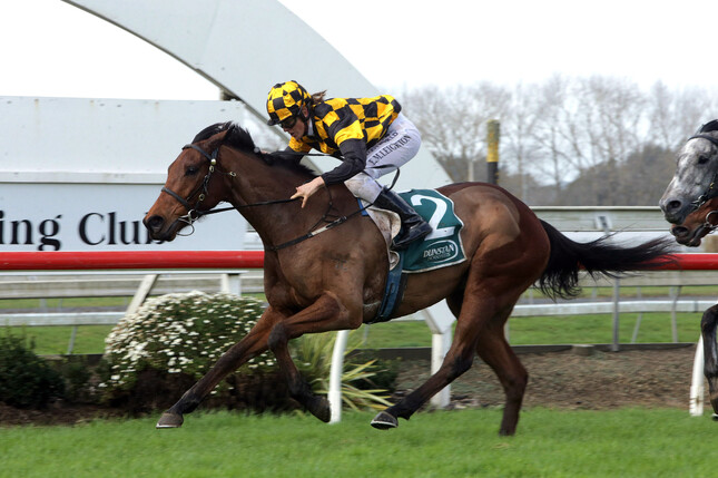 Blue Breeze cruises to a dominant first-up victory at Pukekohe  - Trish Dunell